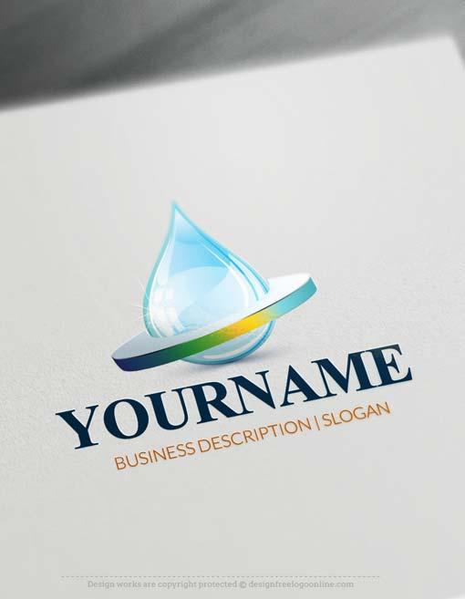 000704-online-3D-water-logo-free-logo-maker