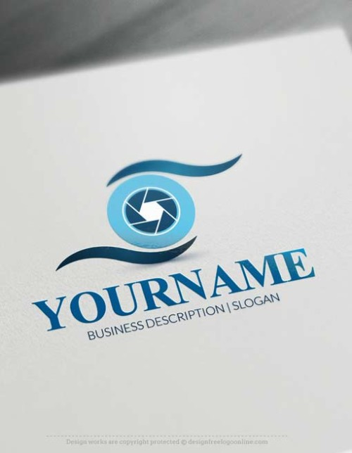 Camera Eye Logo Design