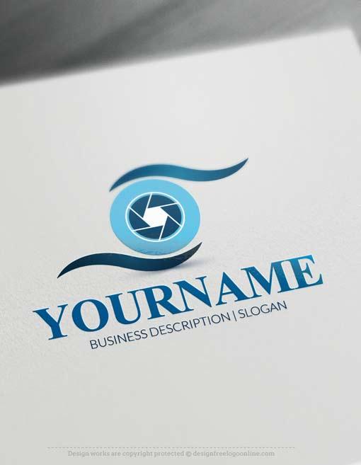 Camera Eye Logo Design