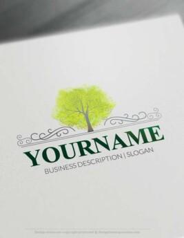 Forest tree Logo designs Free Logo Maker Forest tree Logo designs