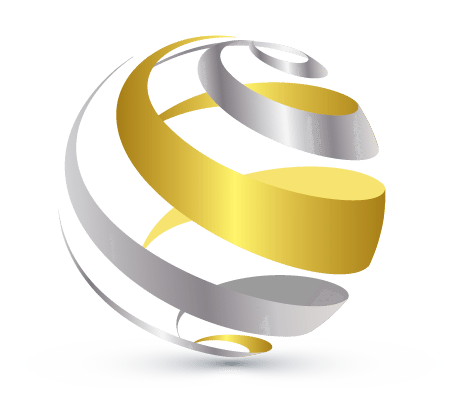 00167 Abstract spiral globe logo design free online ...