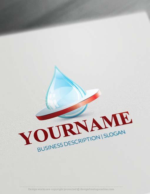 online-3D-water-logo-free-logo-maker