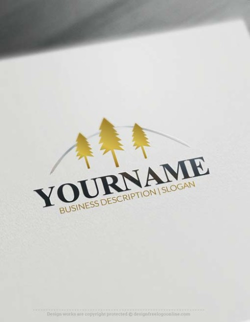 online-forest-tree-logo-free-logo-maker