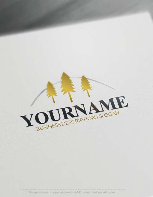 online-forest-tree-logo-free-logo-maker