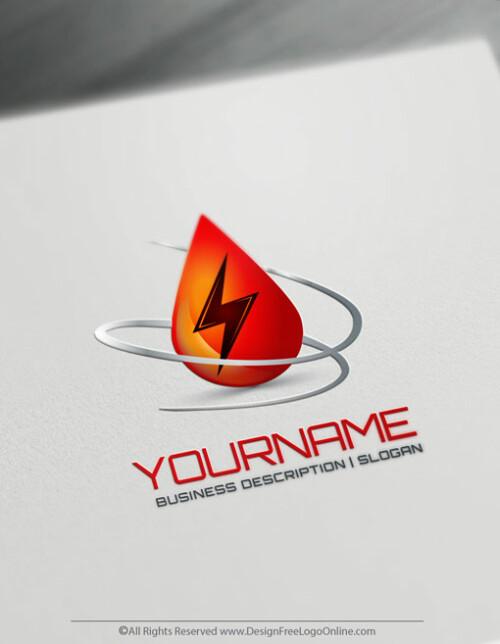 Online Free Energy Logo Maker Power Logo Design