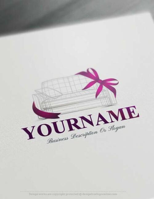 Online Interior Decor Logo Design - Make a Logo with our Free Logo Maker