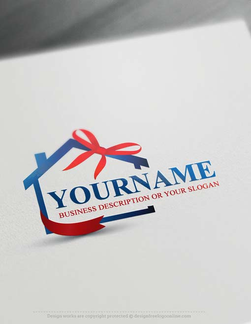 Free Logo Maker Real estate Logo Designs