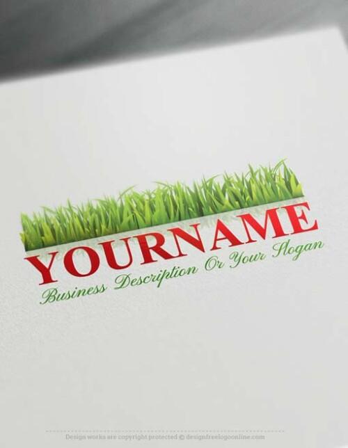 Online Green Grass Logo Design - Make a Logo with our Free Logo Maker