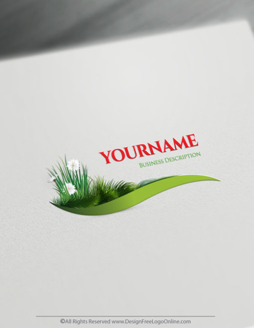 Grass Lawn Care Logo - Make Landscaping Logo With Free Logos Maker