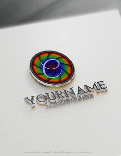 Online logo maker camera logo design for Camera blueprint maker gratuito