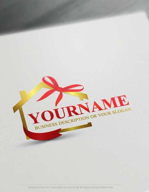 Online Real estate Logo Design - Make a Logo with our Free Logo Maker