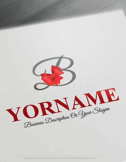 Free online logo creator ribbon logo maker for Design online