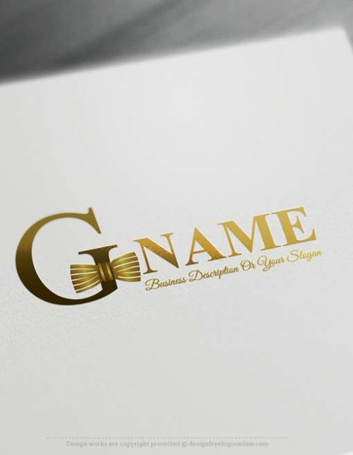 Make online Bowtie Logo Maker Logo Maker, Design your own logo with our free logo creator.