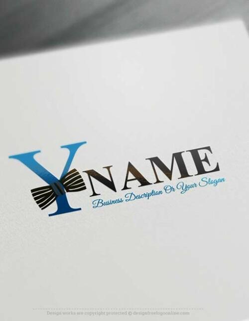 Make online Bowtie Logo Maker Logo Maker, Design your own logo with our free logo creator.