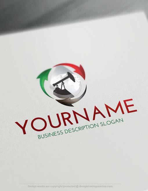 Design a logo free - Online Petroleum Logo Maker