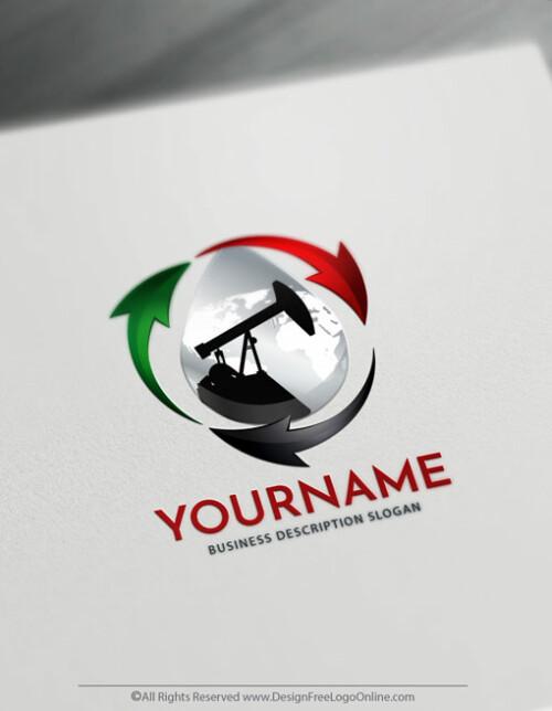 Design a logo free Online Petroleum Logo Maker