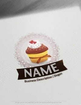 designed cakes logo
