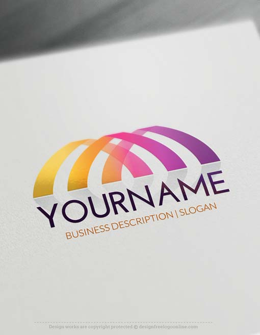 Abstract logo create a logo with our logo maker for Draw logo free