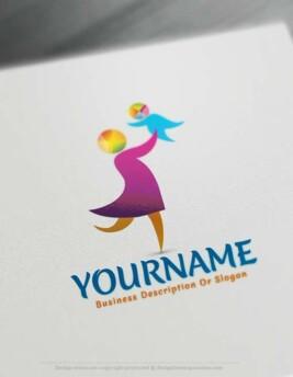 Design Online Parent logo design with our Free Logo Maker