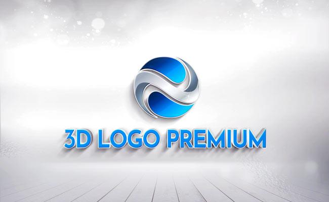 3D PREMIUM LOGO SAMPLE