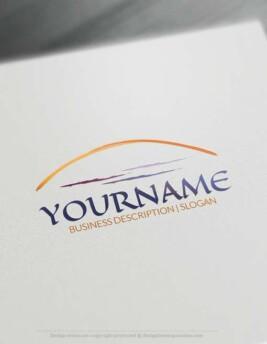 Online Free Logo Maker Landscape Logo Designs