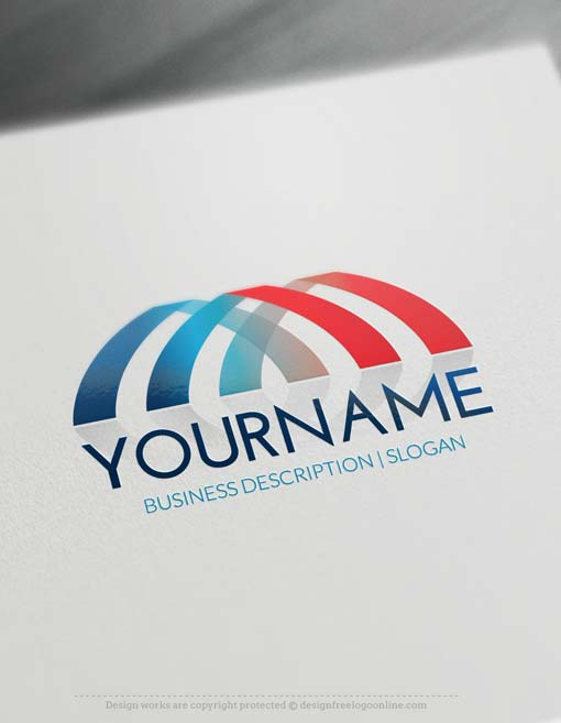Online logo maker bridge logo design for Make a blueprint free online