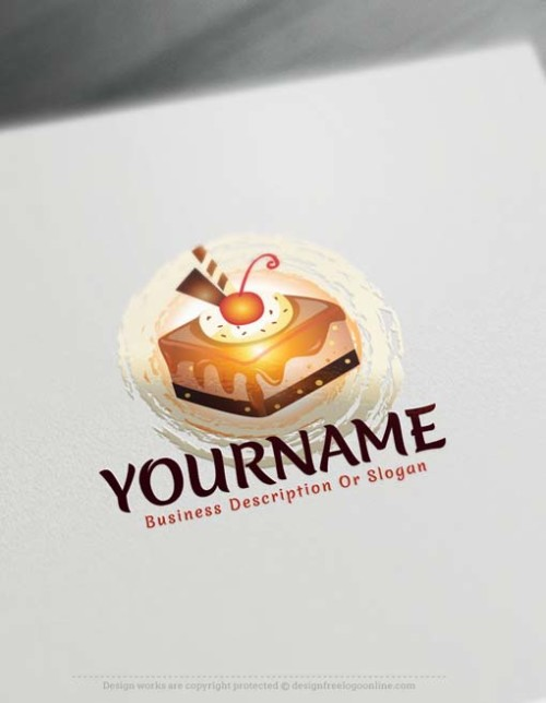 Design your own Sweet Cupcake logo design with our free Logo Maker.