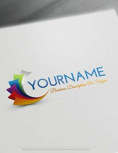 Creating a Logo with our Free Logo creator Swirl Logo Design