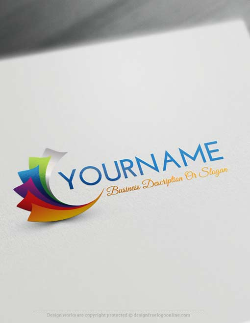 Create a logo online with our free logo maker for Make 3d design online