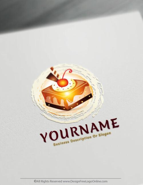Free Cake Logo Maker - Online Cupcake logo design