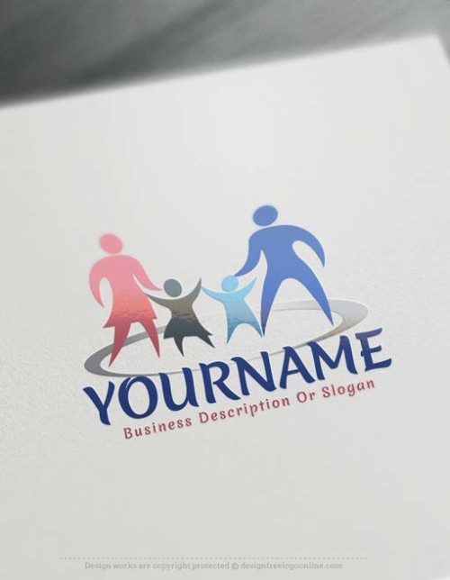 Free Family Logo Maker - Online parents logo design