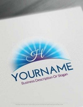 Create Online Sun Logo Design with our logo design software