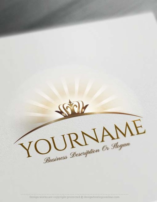 Create Crown logo design online