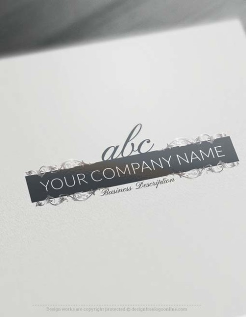 alphabet design maker alphabet logos and initial logo designs monogram maker 15710 | 000767 Free Logo creator online alphabet letters logo design 500x644