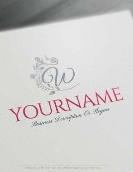Customize this Amazing Alphabet Flowers Letters Logo Design online. Use the free logo maker software to design your own logos in real time.