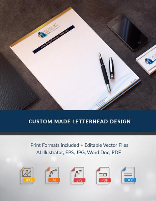Custom Made LetterheadDesign