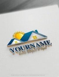 Real estate House Logo Design