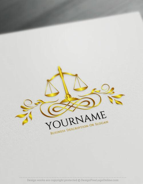 Create Online Libra Logo Design - Law Firm Logo Maker