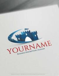 Online Free Logo Maker- Royal Castle logo design