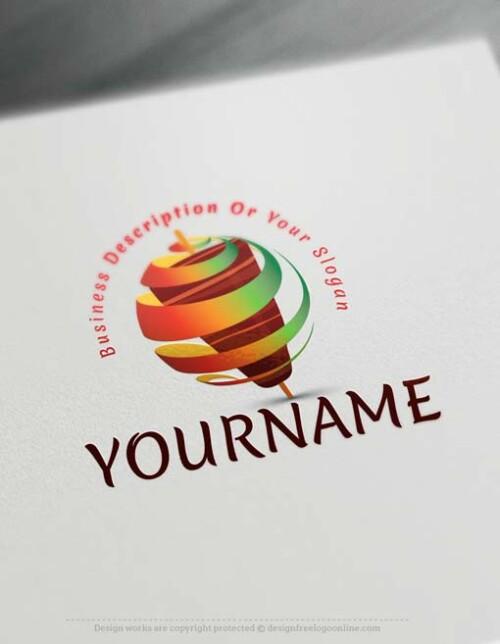 Create Shawarma Logo design with the Free Logo Maker