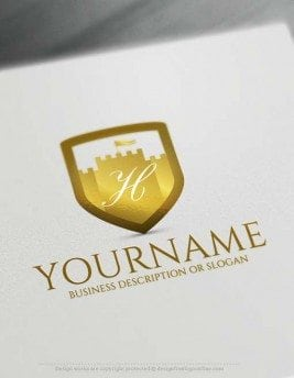 Free Logo Maker - Design Your Own King Castle Logo Design