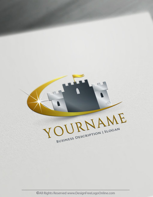 Royal Castle logo design Free Logo Maker