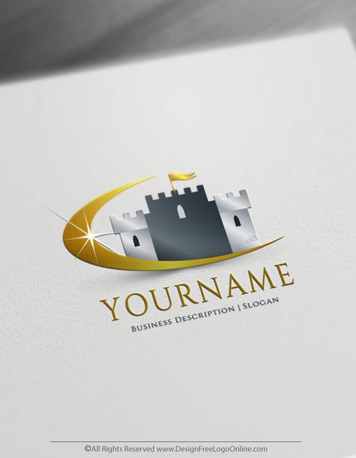 Royal Castle logo design Free Logo Maker