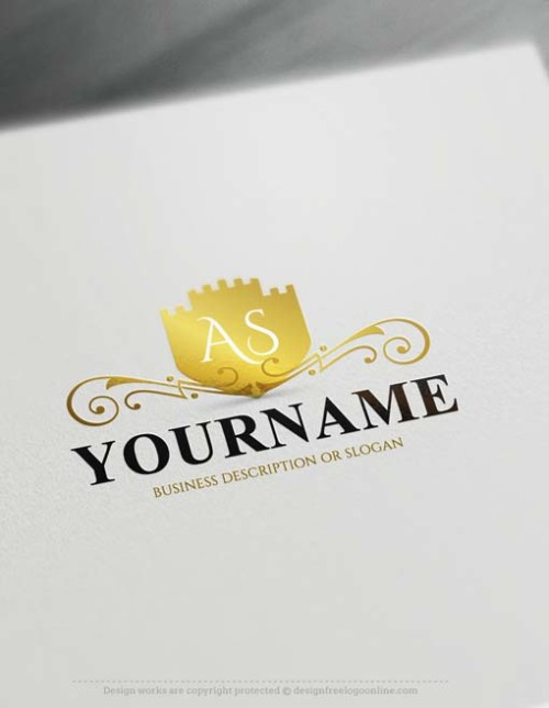 Design Your Own Vintage Castle Logo Design with the Top Free Logo Maker
