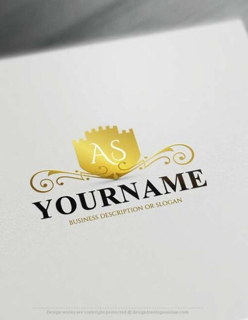 Design Your Own Vintage Castle Logo Design with the Top Free Logo Maker