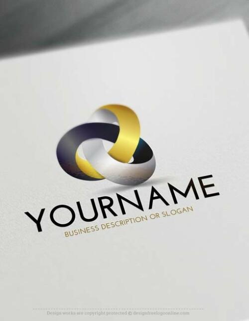 Free 3D Golden Logos