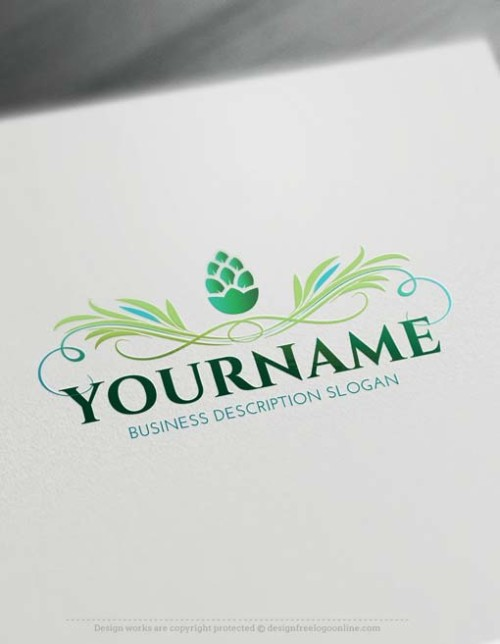 Make Organic Logo designs with The best Food Logo Maker
