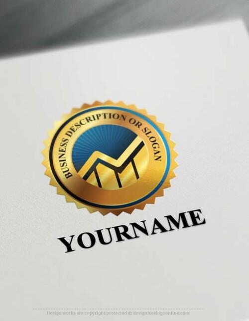 Create Finance Graph Logo Design with Logo Online Maker