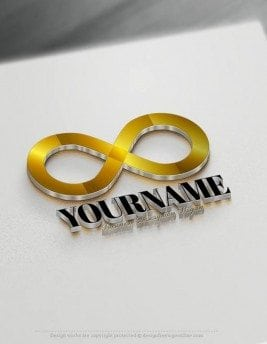 Make Your Own infinity symbol Logo Free with Logo Maker