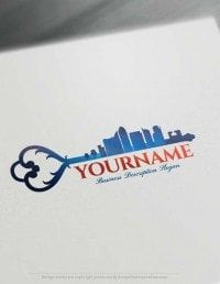 Make Your Own Urban City Logo Free with Logo designer